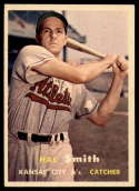 1957 Topps #41 Hal Smith VG Very Good
