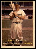 1957 Topps #45 Carl Furillo EX Excellent