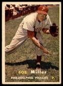 1957 Topps #46 Bob Miller EX Excellent