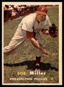 1957 Topps #46 Bob Miller NM Near Mint