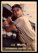 1957 Topps #52 Lee Walls VG/EX Very Good/Excellent