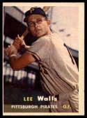 1957 Topps #52 Lee Walls NRMT o/c