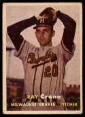 1957 Topps #68 Ray Crone VG/EX Very Good/Excellent