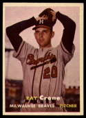 1957 Topps #68 Ray Crone NM Near Mint
