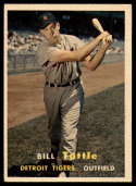 1957 Topps #72 Bill Tuttle EX Excellent
