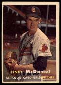 1957 Topps #79 Lindy McDaniel VG Very Good RC Rookie