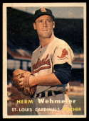 1957 Topps #81 Herm Wehmeier EX/NM