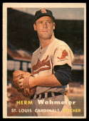 1957 Topps #81 Herm Wehmeier EX Excellent