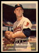 1957 Topps #81 Herm Wehmeier EX++ Excellent++