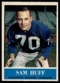 1964 Philadelphia #185 Sam Huff NM Near Mint