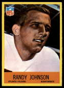 1967 Philadelphia #4 Randy Johnson NM Near Mint RC Rookie