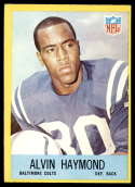 1967 Philadelphia #17 Alvin Haymond EX/NM RC Rookie