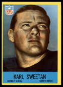 1967 Philadelphia #71 Karl Sweetan NM Near Mint RC Rookie