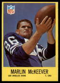 1967 Philadelphia #92 Marlin McKeever NM Near Mint