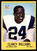 1967 Philadelphia #95 Clancy Williams NM Near Mint RC Rookie