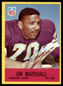 1967 Philadelphia #103 Jim Marshall EX/NM