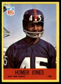 1967 Philadelphia #113 Homer Jones NM-MT RC Rookie