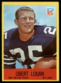 1967 Philadelphia #126 Obert Logan NM Near Mint RC Rookie