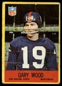 1967 Philadelphia #131 Gary Wood P Poor