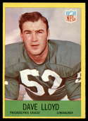 1967 Philadelphia #138 Dave Lloyd NM Near Mint