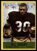 1967 Philadelphia #146 Bill Asbury EX Excellent RC Rookie