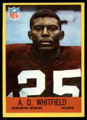 1967 Philadelphia #191 A.D. Whitfield EX/NM RC Rookie
