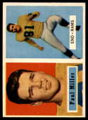1957 Topps #120 Paul Miller DP EX Excellent RC Rookie