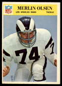 1966 Philadelphia #102 Merlin Olsen EX/NM