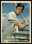 1957 Topps #92 Mickey Vernon EX Excellent