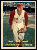 1957 Topps #93 Hal Jeffcoat NM Near Mint