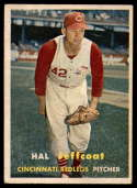 1957 Topps #93 Hal Jeffcoat VG/EX Very Good/Excellent
