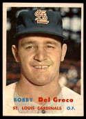 1957 Topps #94 Bobby Del Greco NM Near Mint