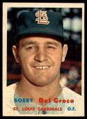 1957 Topps #94 Bobby Del Greco EX/NM