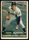 1957 Topps #96 Hank Aguirre EX Excellent RC Rookie