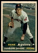 1957 Topps #96 Hank Aguirre NM Near Mint RC Rookie