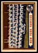 1957 Topps #97 Yankees Team EX Excellent
