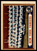 1957 Topps #97 Yankees Team VG/EX Very Good/Excellent