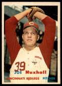 1957 Topps #103 Joe Nuxhall NM Near Mint