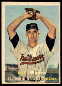 1957 Topps #106 Ray Moore VG/EX Very Good/Excellent