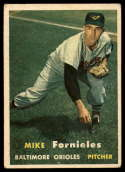 1957 Topps #116 Mike Fornieles VG Very Good