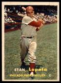 1957 Topps #119 Stan Lopata NM Near Mint