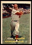 1957 Topps #119 Stan Lopata NRMT o/c