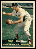 1957 Topps #131 Milt Bolling EX Excellent