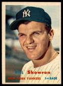 1957 Topps #135 Bill Skowron EX/NM