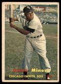 1957 Topps #138 Minnie Minoso UER VG Very Good
