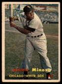 1957 Topps #138 Minnie Minoso UER mark