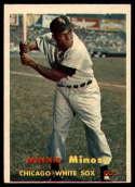 1957 Topps #138 Minnie Minoso UER NRMT o/c