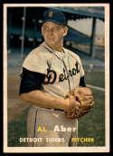 1957 Topps #141 Al Aber NM Near Mint