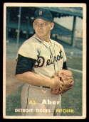 1957 Topps #141 Al Aber VG Very Good