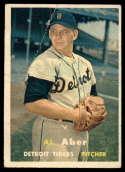 1957 Topps #141 Al Aber G Good
